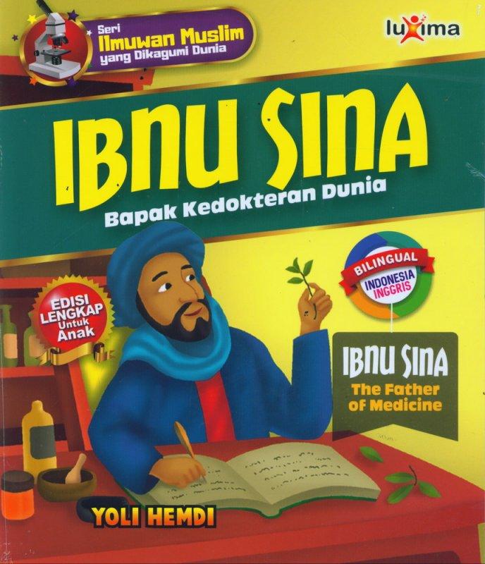 Cover Buku Ibnu Sina - Bapak Kedokteran Dunia (Bilingual Indonesia-Inggris)