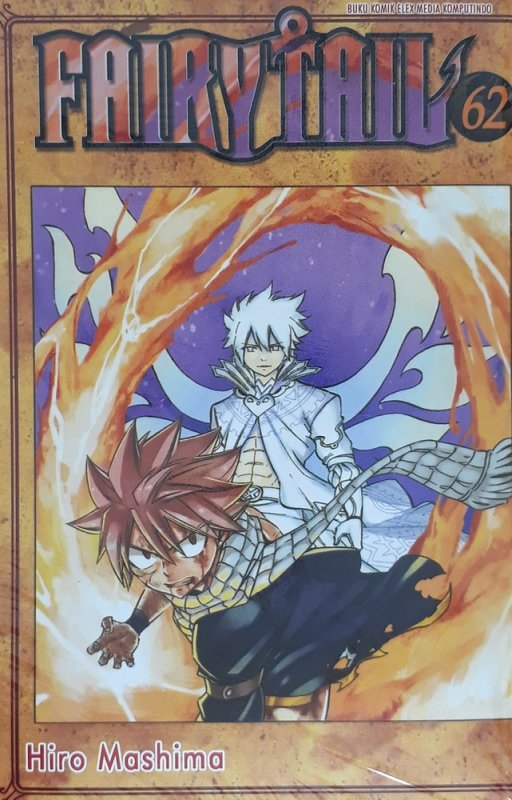 Cover Depan Buku Fairy Tail 62