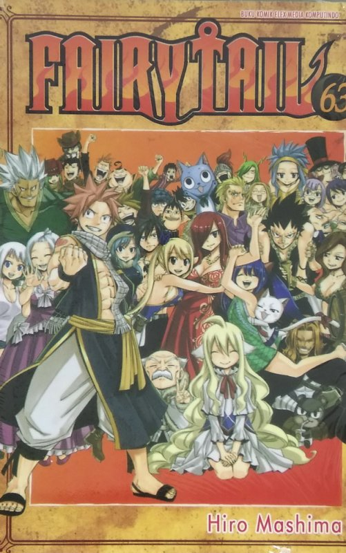 Cover Fairy Tail 63
