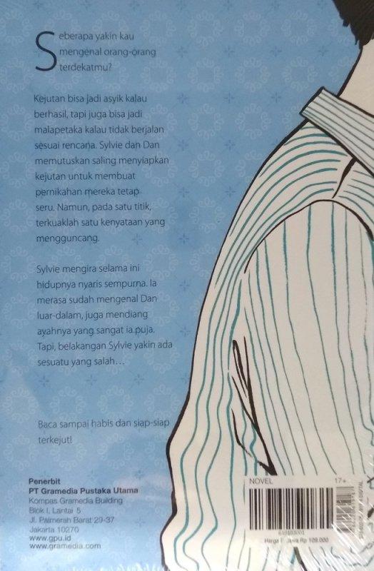 Cover Belakang Buku Chicklit: Surprise Me