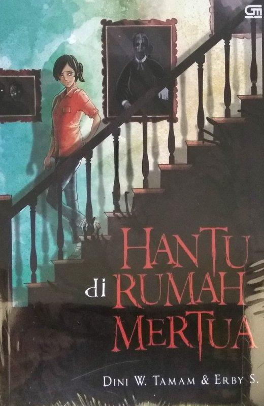 Cover Buku Hantu di Rumah Mertua