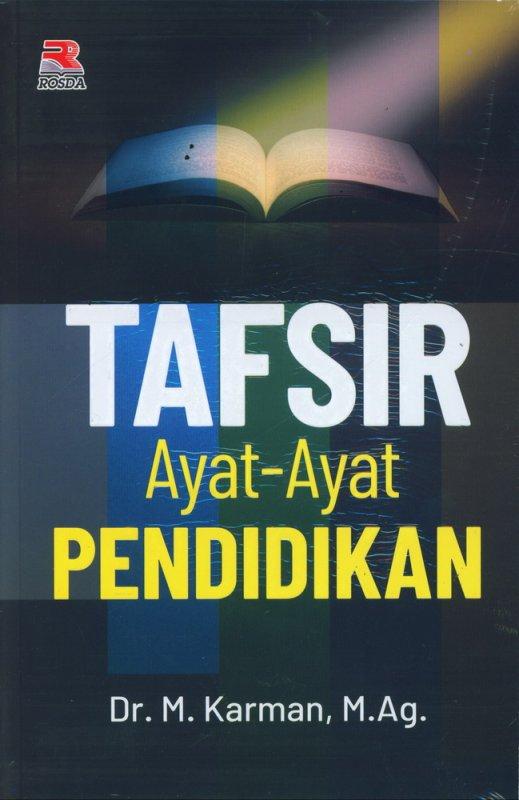 Cover Buku Tafsir Ayat-Ayat Pendidikan