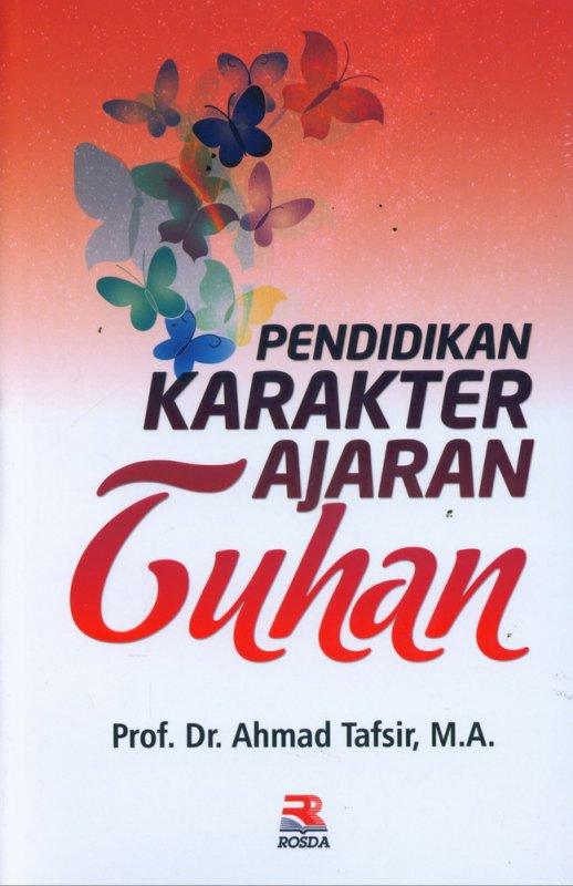 Cover Buku Pendidikan Karakter Ajaran Tuhan