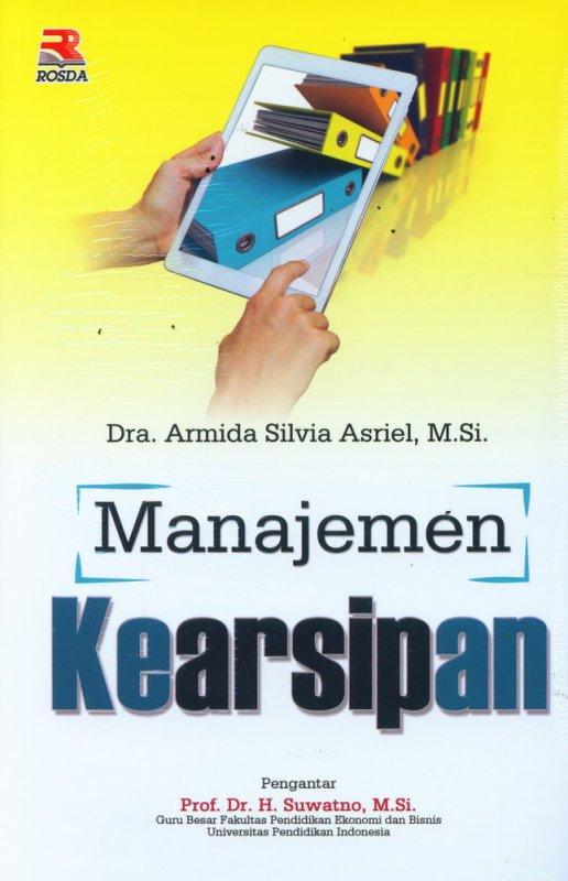 Cover Buku Manajemen Kearsipan