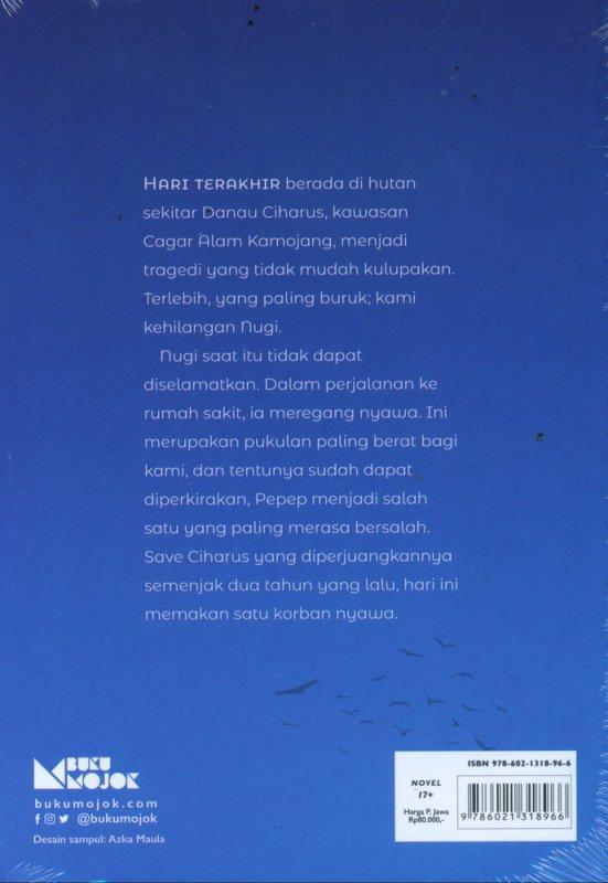 Cover Belakang Buku Kekal Untuk Semesta yang Semestinya Lestari