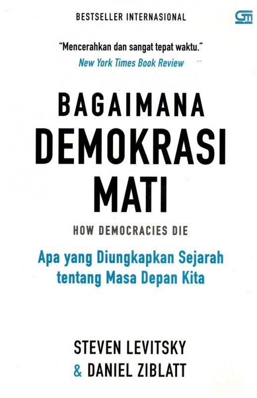 Cover Belakang Buku Bagaimana Demokrasi Mati