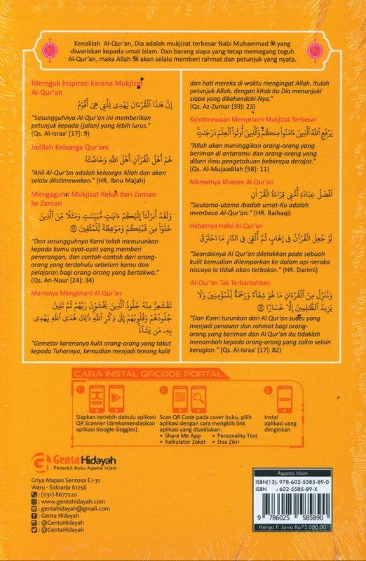 Cover Belakang Buku Be Quran Lovers Membangun Keluarga Qur ani