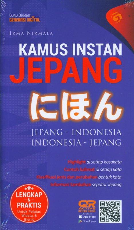 Cover Buku Kamus Instan Nihon Jepang Indonesia-Indonesia Jepang