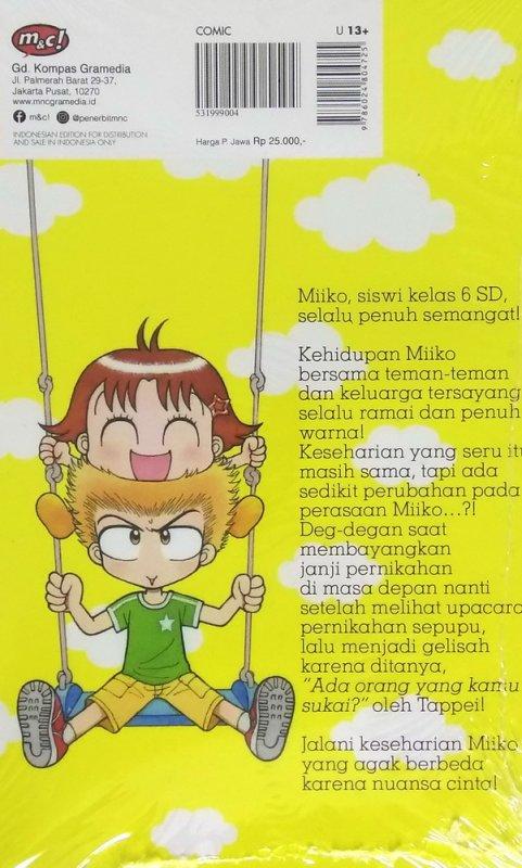 Cover Belakang Buku Hai, Miiko! 31