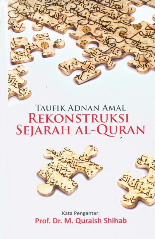 Cover Buku Rekonstruksi Sejarah Al-Quran - Hard Cover