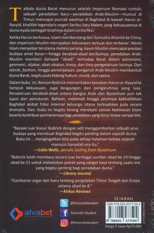 Cover Belakang Buku Kejayaan Harun Ar-Rasyid