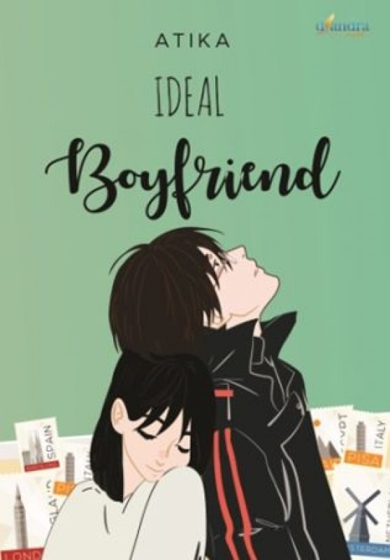 Cover Buku Ideal Boyfriend