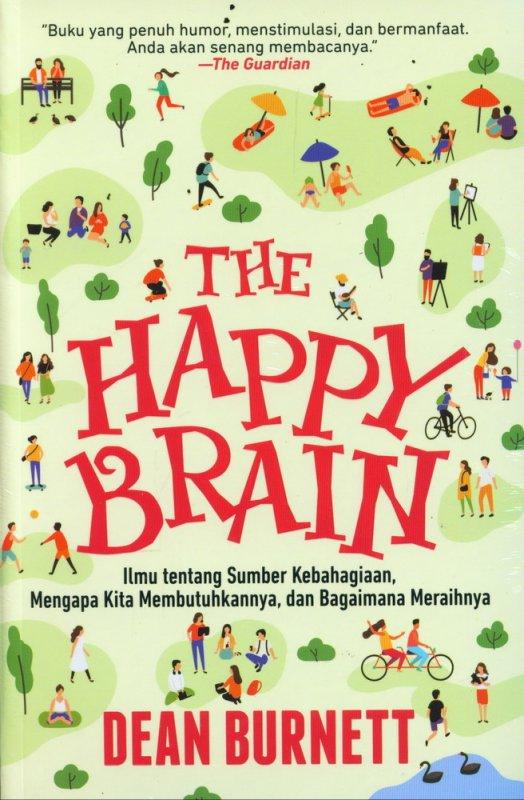 Cover Buku The Happy Brain
