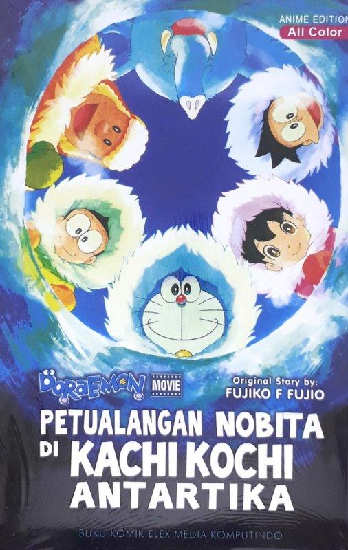 Cover Buku Doraemon Movie: Petualangan Nobita di Kachi Kochi Antartika