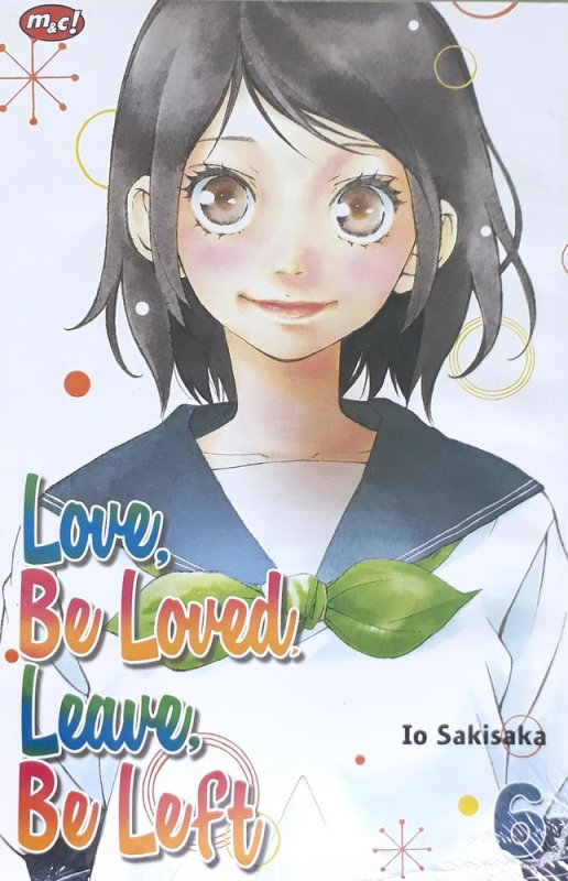 Cover Buku Love, Be Loved, Leave, Be Left 06