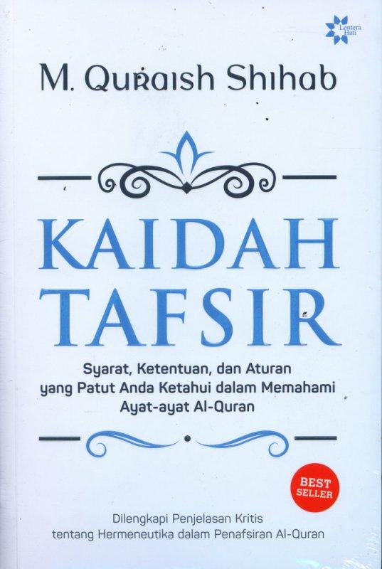 Cover Buku Kaidah Tafsir