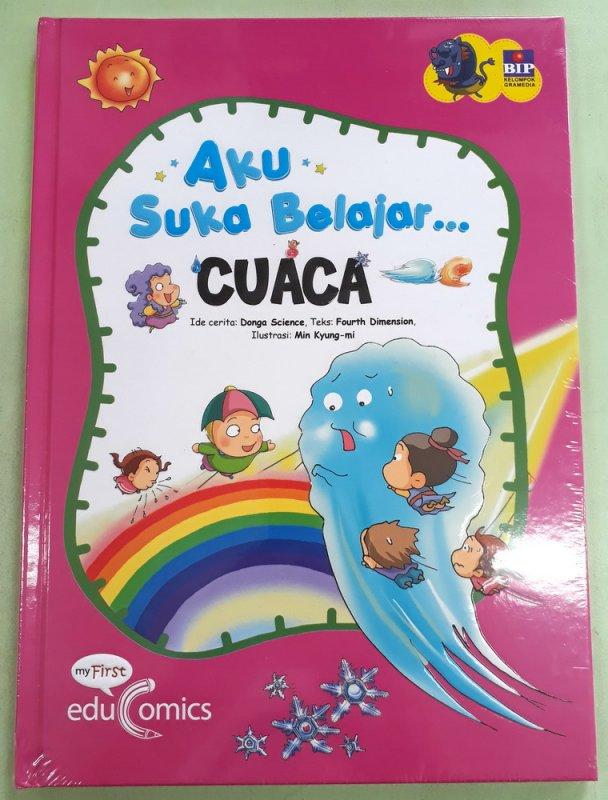 Cover Buku Seri Aku Suka Belajar: Cuaca (Hard Cover)