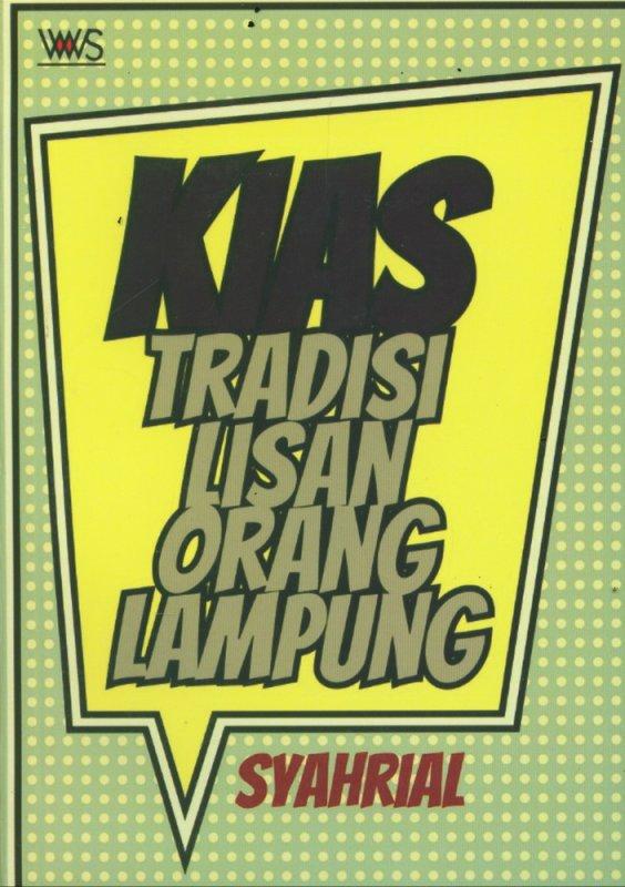 Cover Buku KIAS Tradisi Lisan Orang Lampung