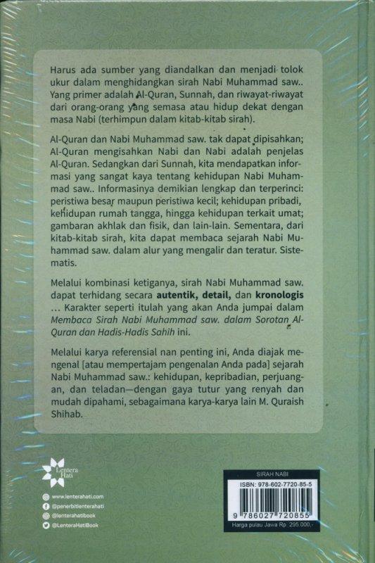 Cover Belakang Buku Membaca Sirah Nabi Muhammad Dalam Sorotan Al-Quran dan Hadis-Hadis Shahih - Edisi Baru (Hard Cover)