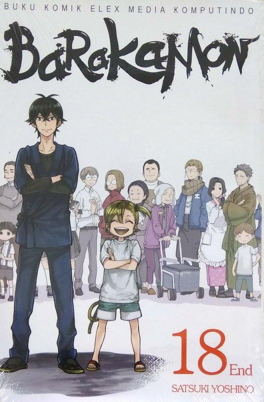 Cover Buku Barakamon Vol. 18 - End