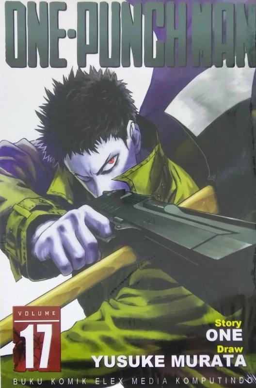 Cover Buku One Punch Man 17