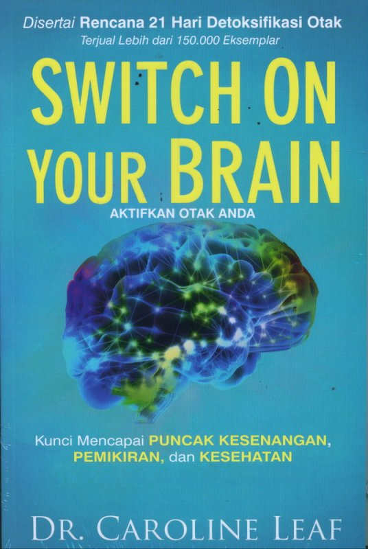 Cover Buku Switch on Your Brain (Aktifkan Otak Anda)