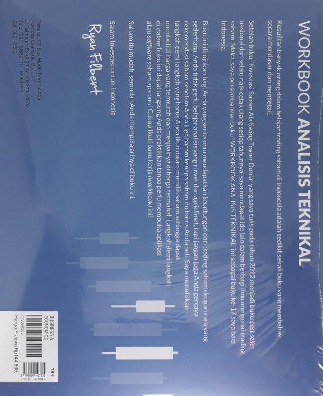 Cover Belakang Buku Workbook Analisis Teknikal