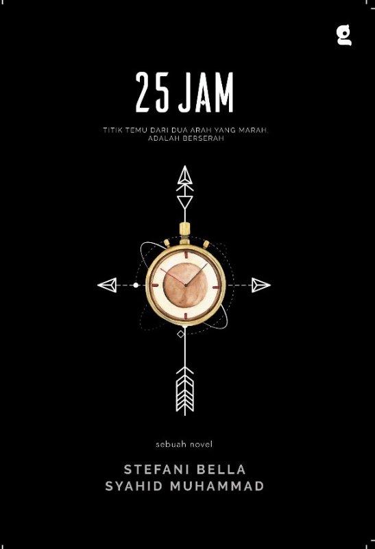 Cover Buku 25 Jam (reguler)