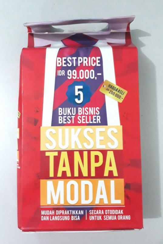 Cover Buku BOXSET 5 BUKU BISNIS BEST SELLER SUKSES TANPA MODAL