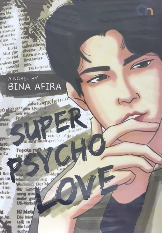 Cover Buku Super Psycho Love