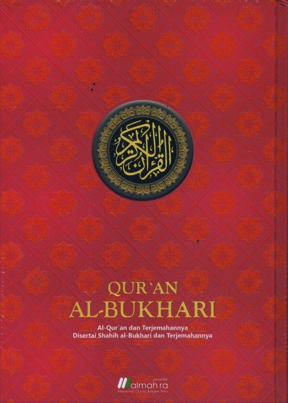 Cover Buku AL-QURAN AL BUKHARI B5 Hard Cover