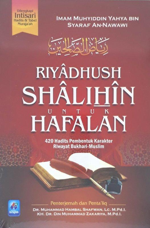 Cover Buku Riyadhush Shalihin Untuk Hafalan