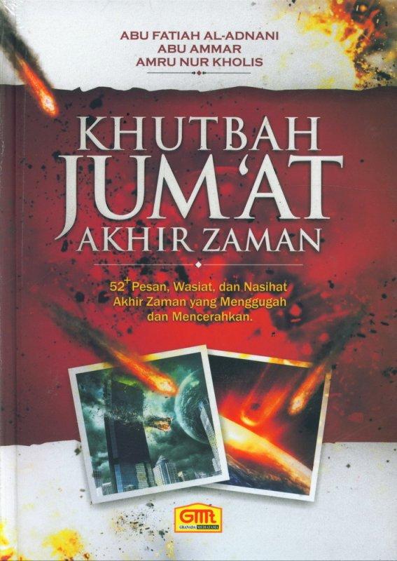 Cover Buku Khutbah Jumat Akhir Zaman (Hard Cover)