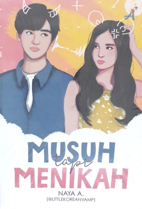 Cover Buku Musuh Tapi Menikah