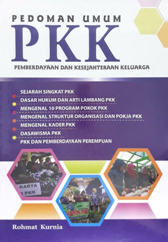 Cover Buku Pedoman Umum PKK