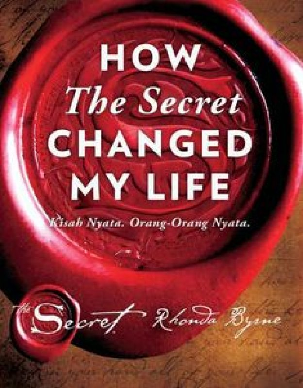 Cover Buku How The Secret Changed My Life