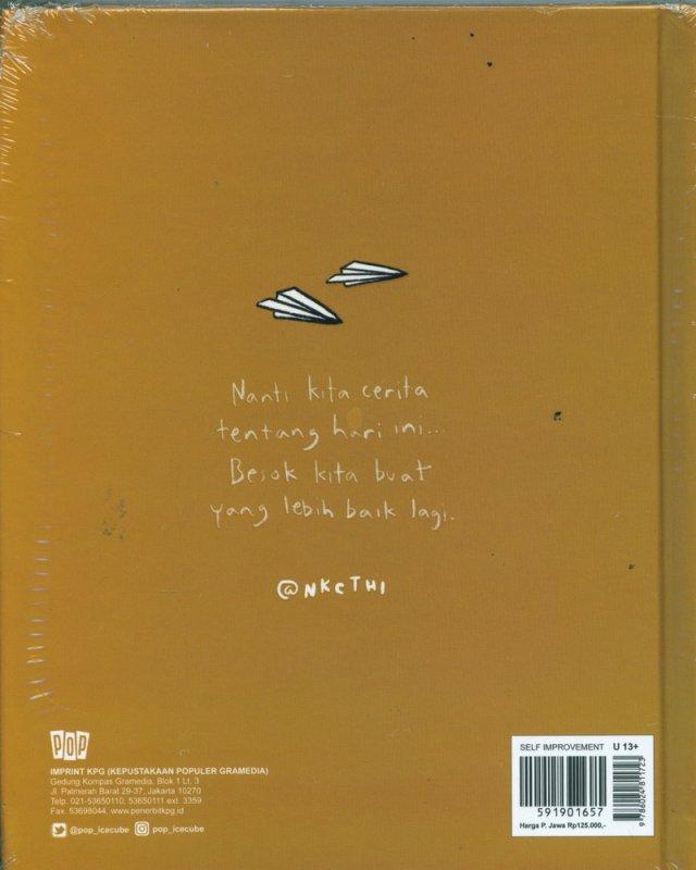Cover Belakang Buku Nanti Kita Cerita Tentang Hari Ini (Edisi khusus)