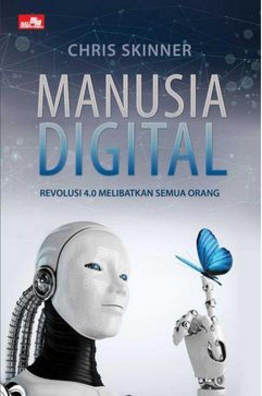 Cover Buku Manusia Digital