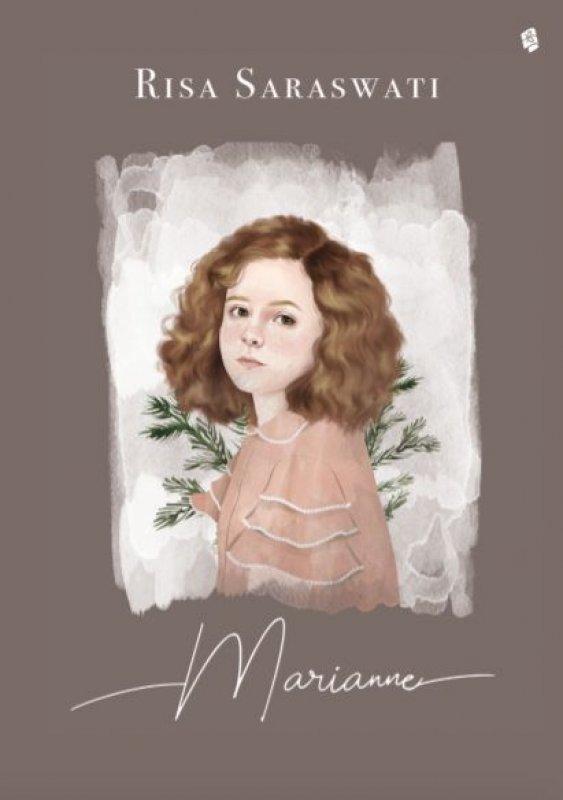 Cover Buku Marianne [1 Poster Marianne & 1 Set Kartu Karakter danur Risa] (Promo Best Book)