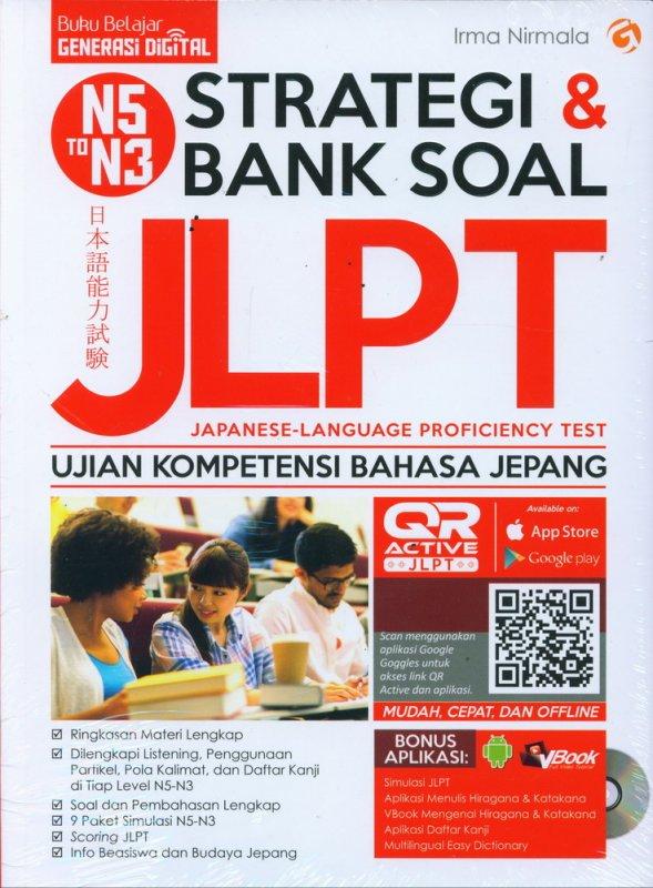 Cover Buku Strategi & BANK SOAL JLPT