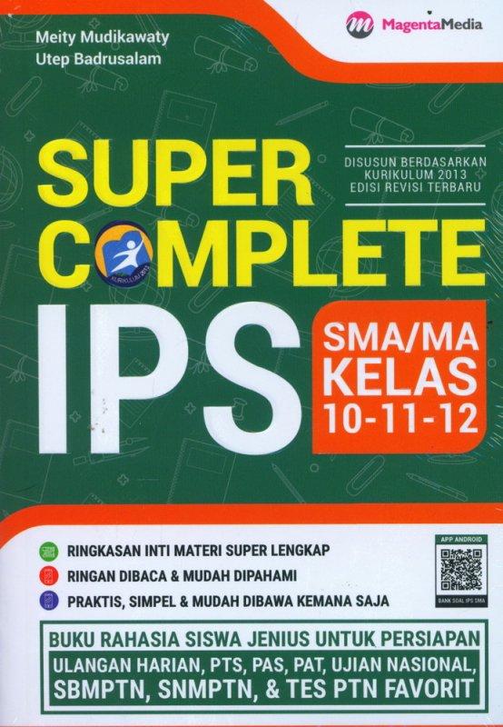 Cover Buku SUPER COMPLETE IPS SMA/MA KELAS 10-11-12