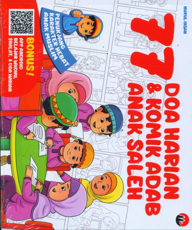 Cover Buku 77 Doa Harian & Komik Adab Anak Saleh