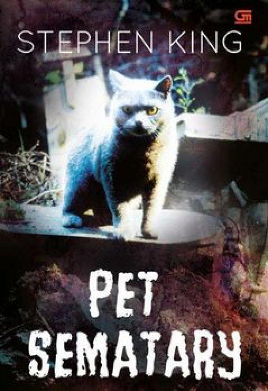 Cover Buku Pet Sematary (Cover Film)