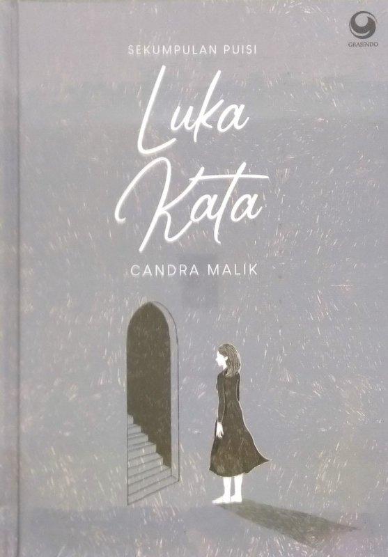 Cover Buku Luka Kata - Sekumpulan Puisi (Hard Cover)