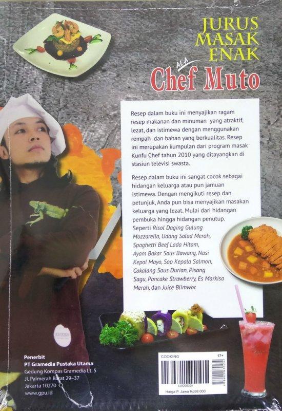 Buku Jurus Masak Enak Ala Chef Muto | Toko Buku Online ...
