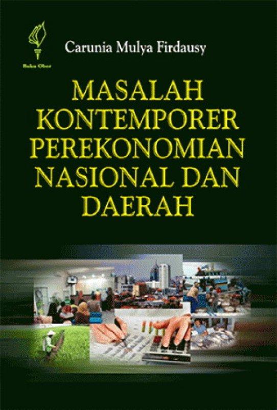 Cover Buku Masalah Kontemporer Perekonomian Nasional dan Daerah