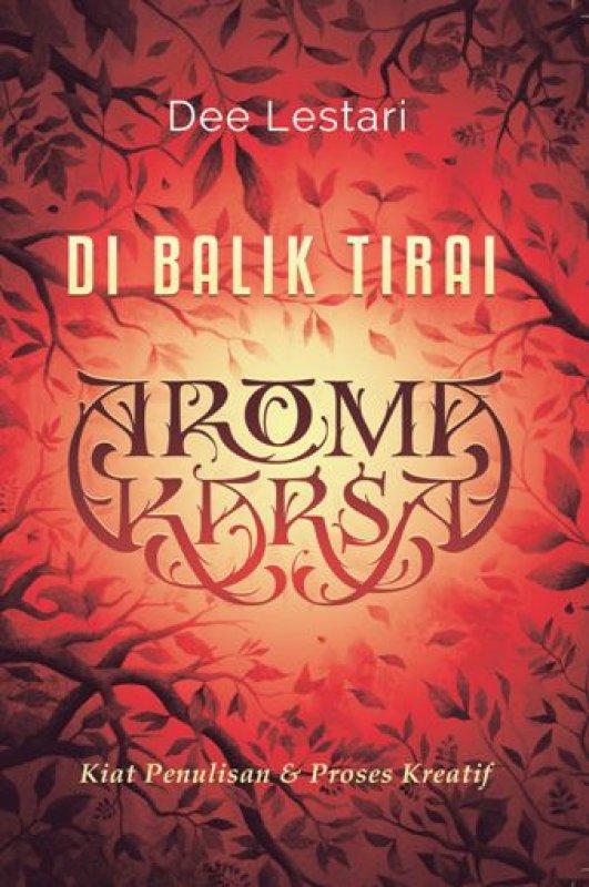 Cover Buku Di Balik Tirai Aroma Karsa Edisi TTD Dee Lestari + Totebag