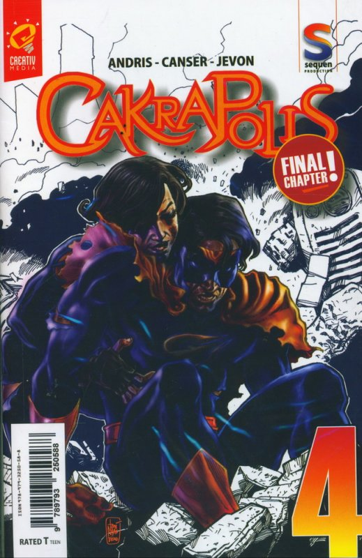 Cover CAKRAPOLIS #4 [FULL COLOR] FINAL CHAPTER
