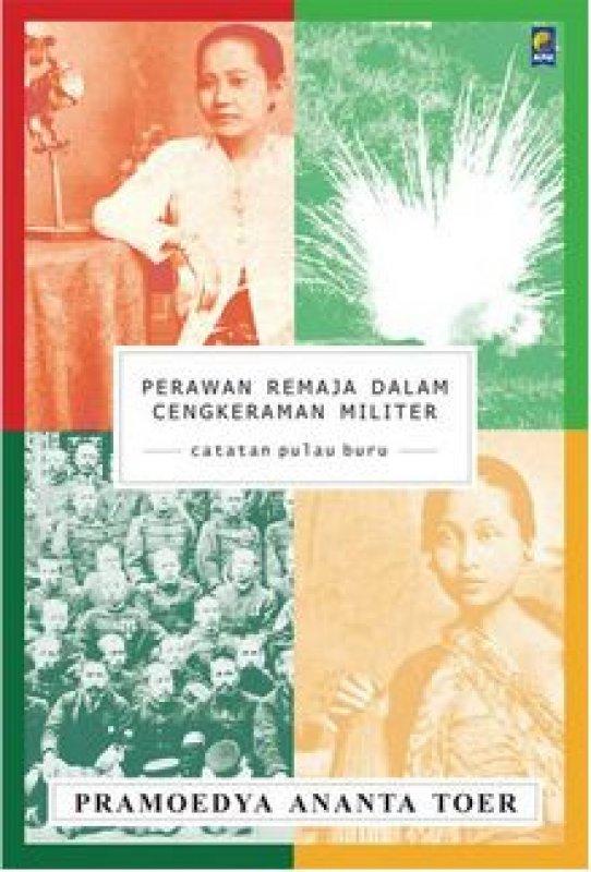 Cover Buku Perawan Remaja Dalam Cengkeraman Militer