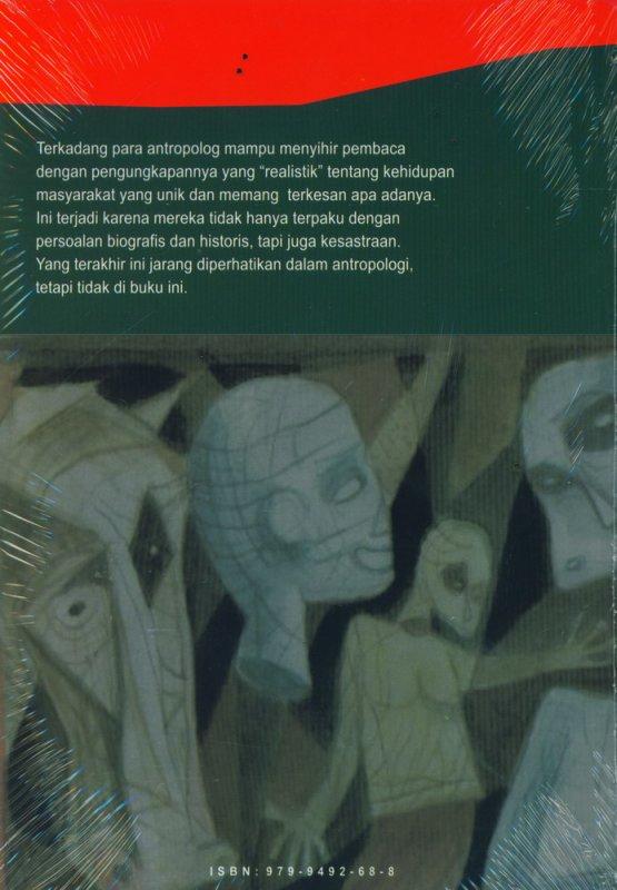 Cover Belakang Buku Hayat dan Karya Antropolog sebagai Penulis dan Pengarang
